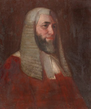 Sir William Charles Windeyer, 1892 by Tom Roberts