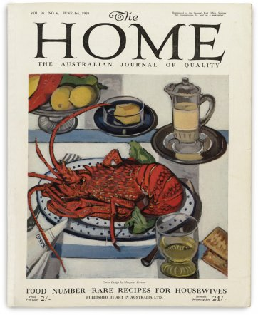 Cover for The Home June, 1929