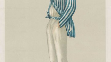 "The Demon Bowler""  Frederick Robert Spofforth (image plate from Vanity Fair), 1878 Sir Leslie Ward"