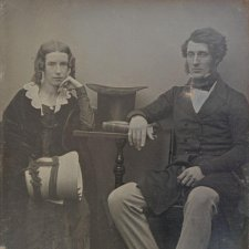 Thomas Sutcliffe Mort and his wife Theresa, c.1847 by an unknown artist