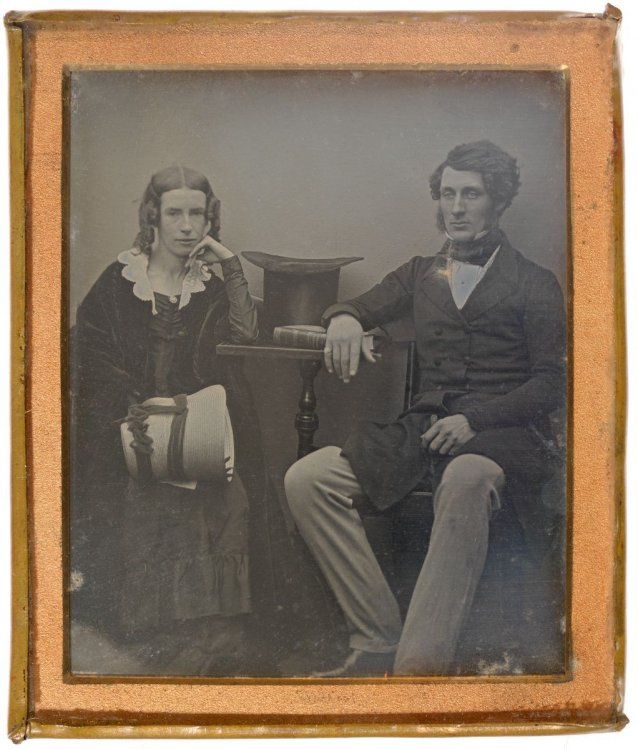 Thomas Sutcliffe Mort and his wife Theresa