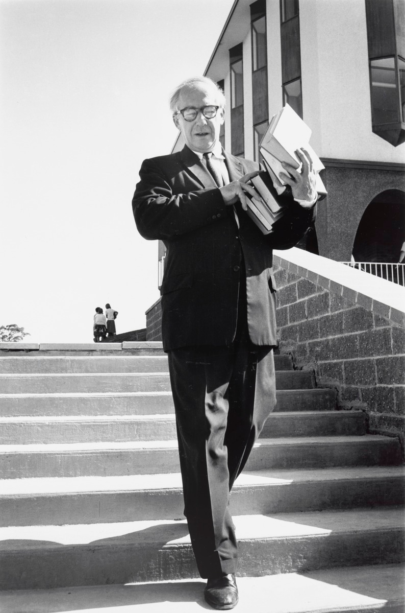 Professor A D Hope, Canberra, 1963 (printed 2000) by David Moore