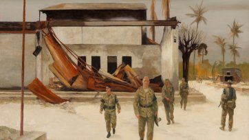 General Cosgrove, Dili, East Timor 1999, 2006 by Rick Amor