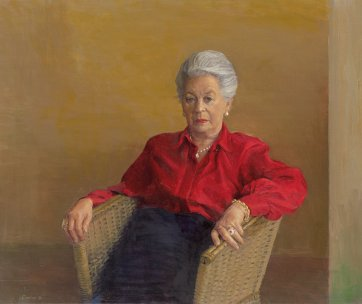 Portrait of Anne Purves, 1991