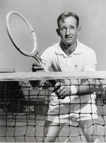 Rod Laver by Ern McQuillan