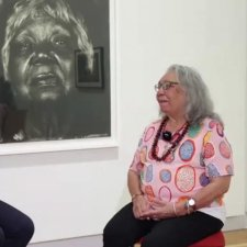 Brenda L Croft and Dr Matilda House In Conversation video: 43 minutes