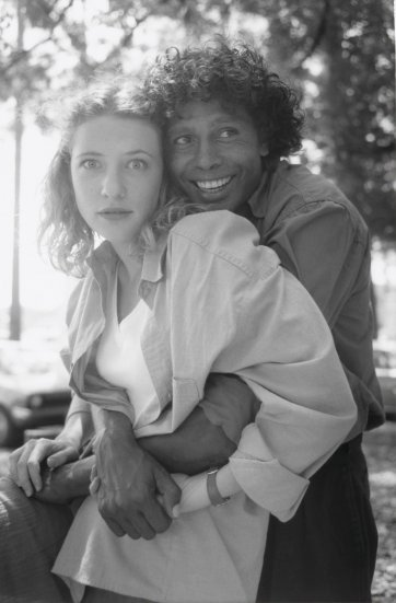 Cate Blanchett and Ernie Dingo, 1994 by Juno Gemes