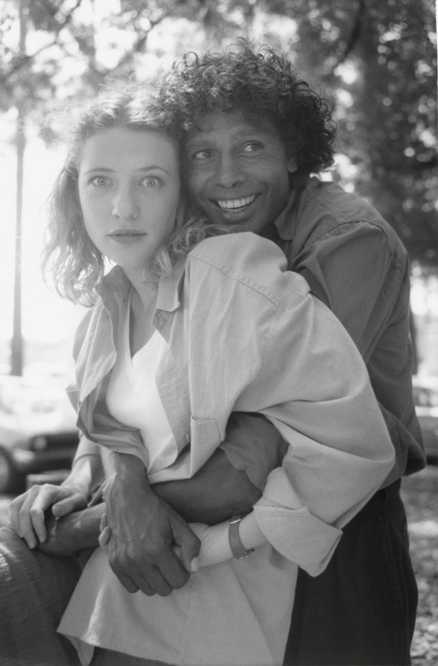 Cate Blanchett and Ernie Dingo