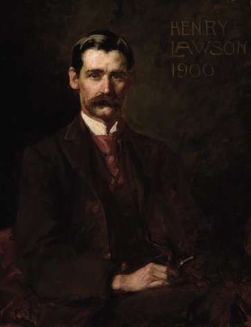 Henry Lawson, 1900 by John Longstaff