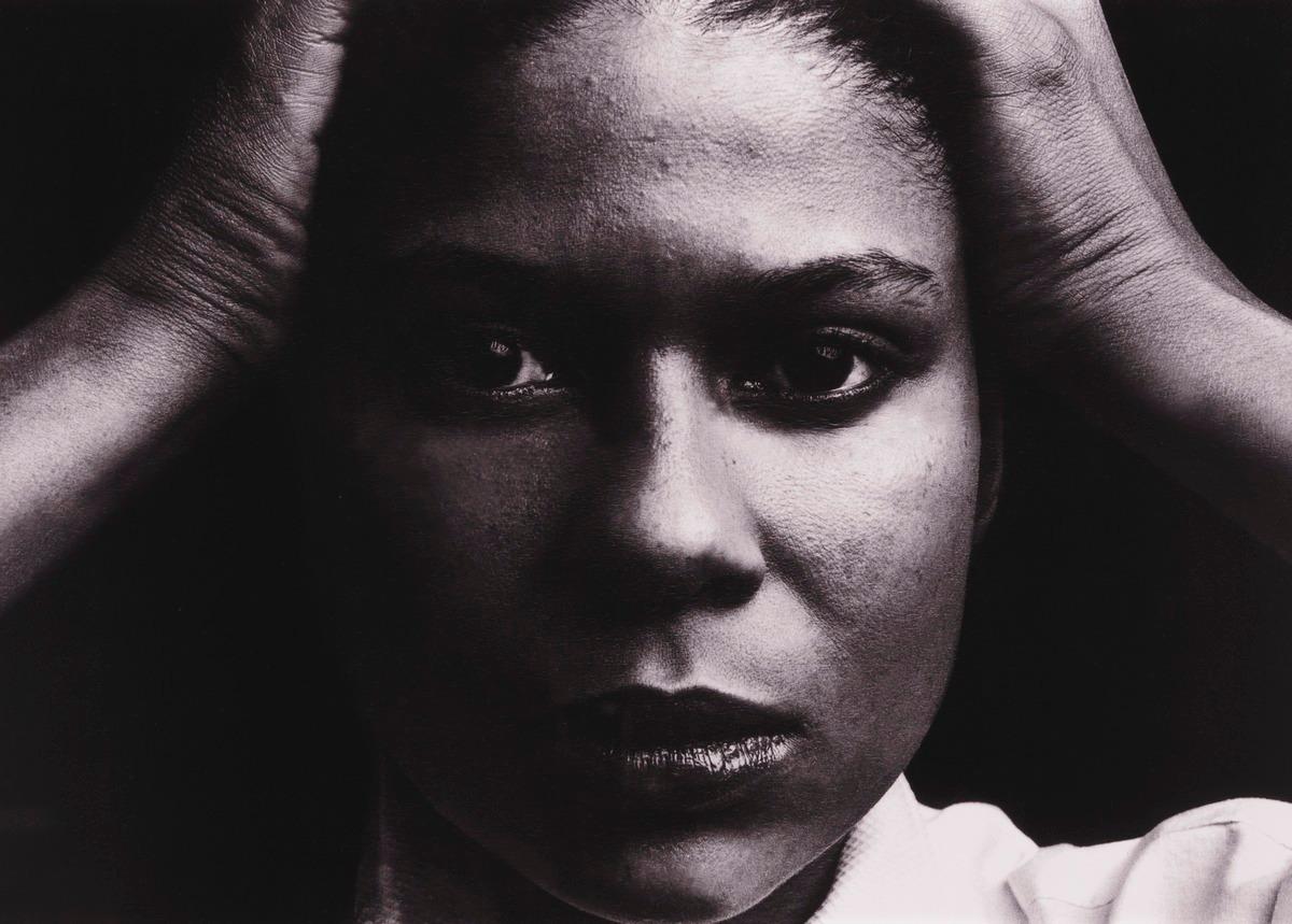 "Kristina, from the portfolio ""Michael Riley Portraits 1984 ..."