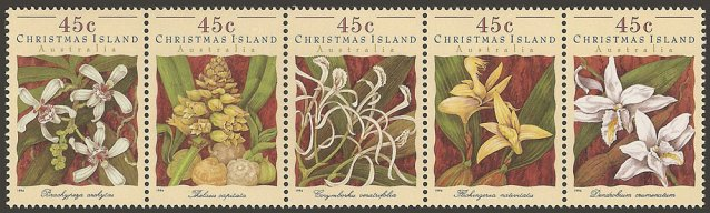Christmas Island stamps, issued 1994