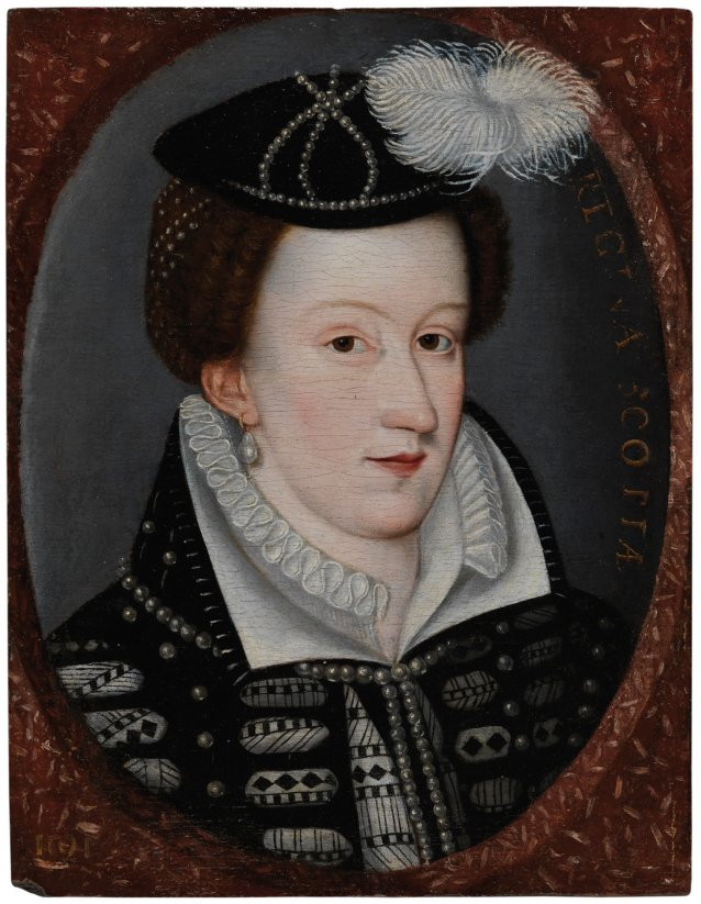 Mary, Queen of Scots, c.1560-92 Artist unknown