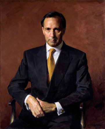 The Hon. Paul J Keating, 1997 by Robert Hannaford