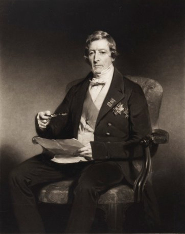 General Sir Thomas Makdougall Brisbane, 1850 (published) by James Faed, W Wilding after John Watson Gordon
