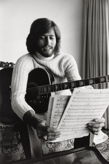 Barry Gibb, 1970-71 by Rennie Ellis