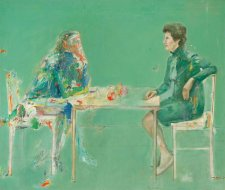 The painter transmogrified and Mrs Smith, 1973 Eric Smith