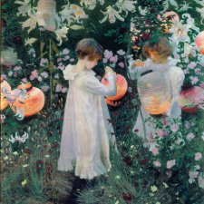 Carnation, Lily, Lily, Rose, 1885-86 by 