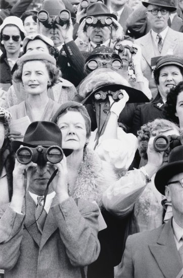 Dublin Horse Show spectators, 1956 (printed 2000) by David Moore