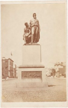 The Burke and Wills Monument, 1869 Thomas Foster Chuck