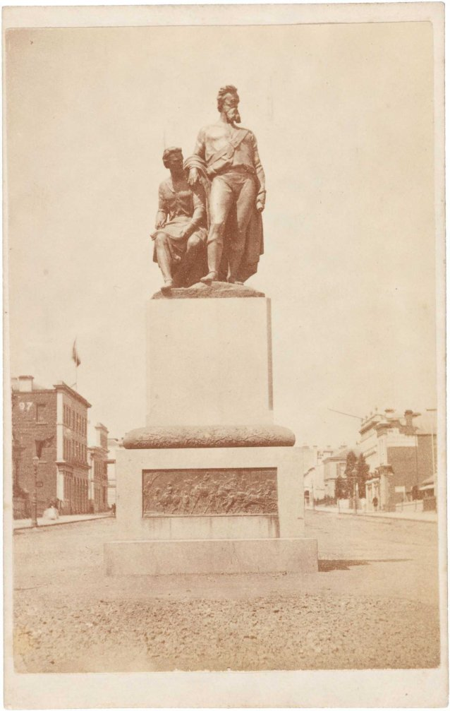 The Burke and Wills Monument