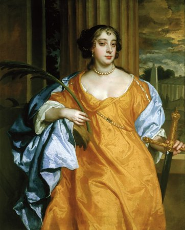 Barbara Villiers, Duchess of Cleveland as St. Catherine of Alexandria, c. 1665–70
