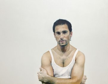 Portrait of Alex Dimitriades, 2005 by Michael Zavros