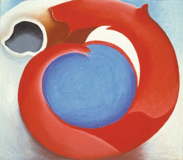 Goats horn with red, 1945