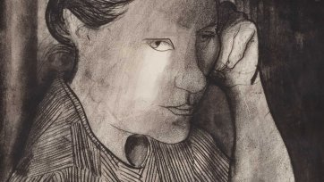 Girl (portrait of Barbara Blackman), 1969 Charles Blackman