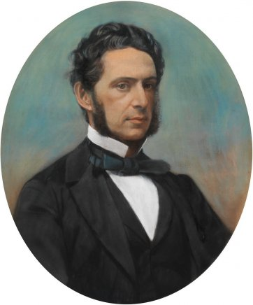 William Walford, c.1873 by an unknown artist