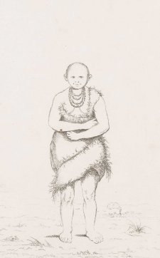 Truggernana [Trukanini], a native of southern part of V.D. Land, 1835 Benjamin Duterrau