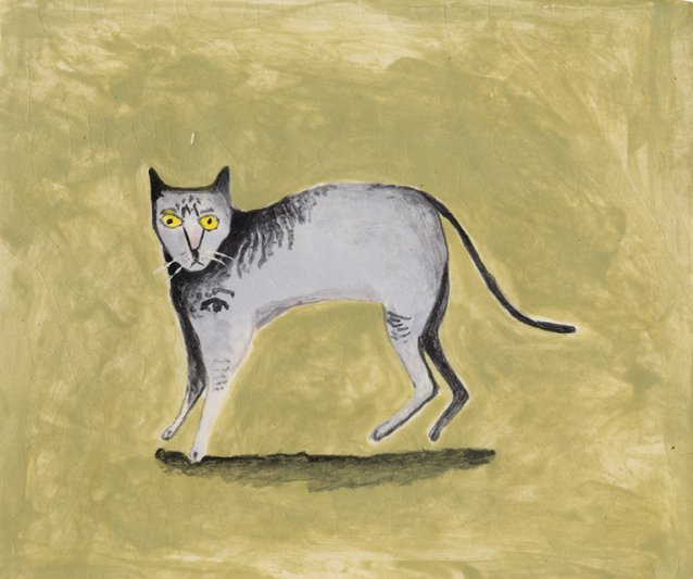 Cat surprised, 2014 by Noel McKenna