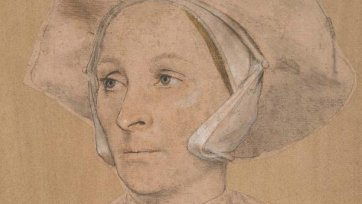 Portrait of an English Woman c. 1532-5 (detail)
