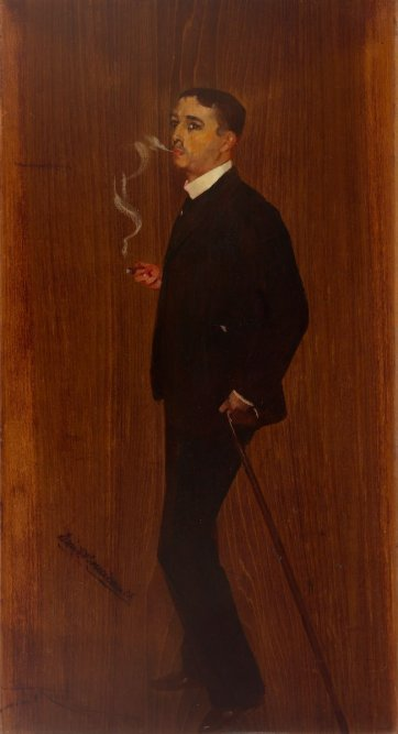 Dion G Boucicault by Tom Roberts
