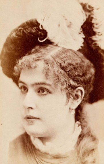 Kate Girard, c. 1885 by Mora of New York