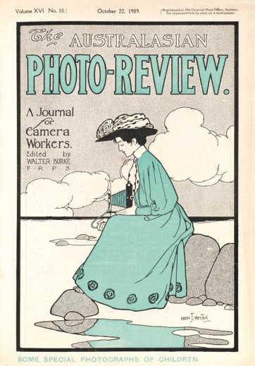 Cover of The Australiasian Photo-Review, October 1909