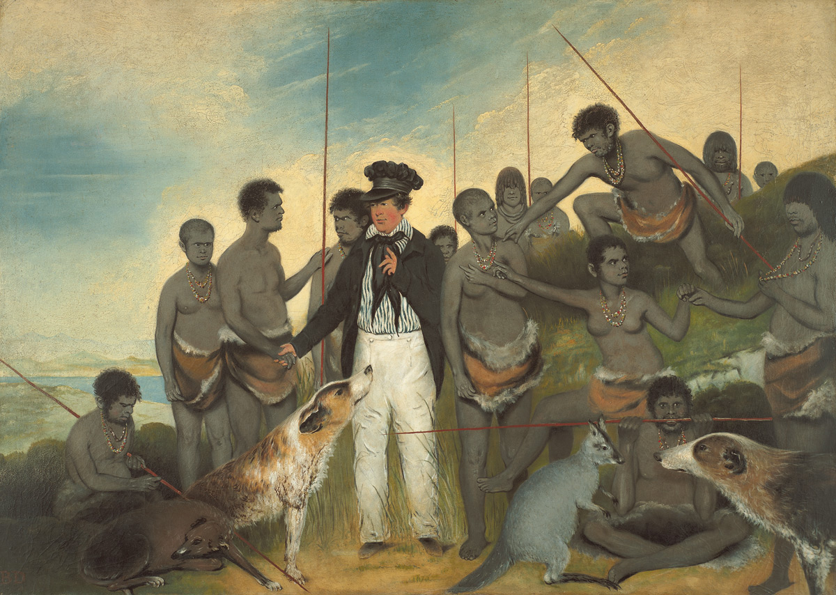 The Conciliation, 1840 by Benjamin Duterrau