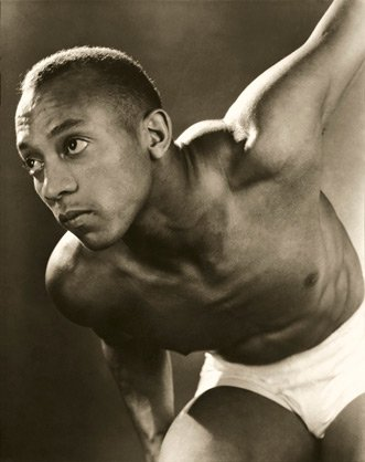 Jesse Owens, by Lusha Nelson, 1935 publ. September 1935.