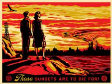 Sunsets, 2007 by Shepard Fairey