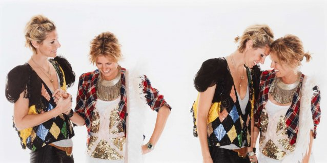 Portrait of Heidi Middleton and Sarah-Jane Clarke (Sass & Bide)