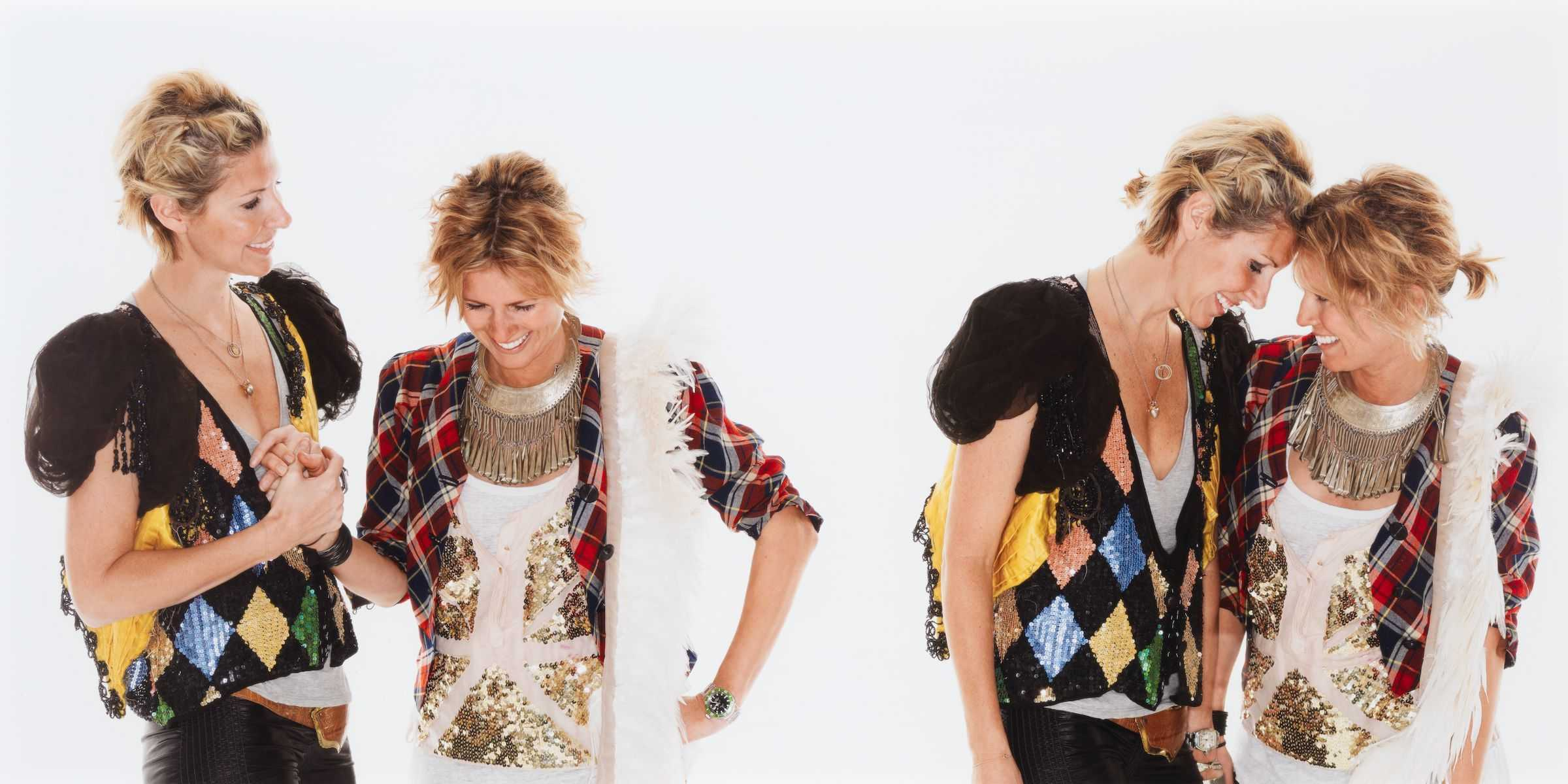 Portrait of Heidi Middleton and Sarah-Jane Clarke (Sass & Bide), 2008 by Deborah Paauwe