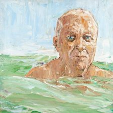 Robert Drewe (in the swell), 2006 Nicholas Harding