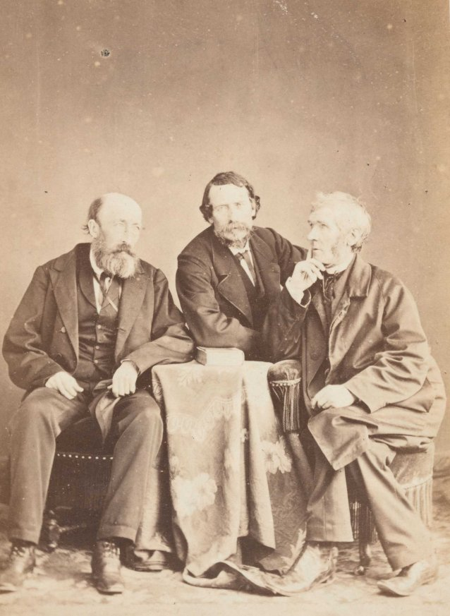 John Mitchel with John Martin and Father John Kenyon [the three Johns]