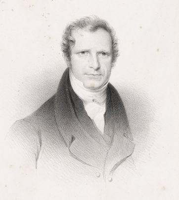 Gamaliel Butler, c. 1824 by an unknown artist