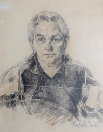 Judy's grandmother, 1932 by Judy Cassab