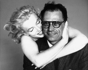 Marilyn Monroe and Arthur Miller, New York, May 8, 1957 by Richard Avedon