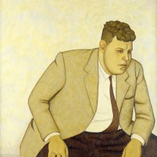 Portrait of a Man (Fred Williams), 1958