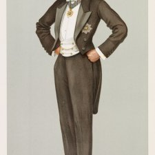 """New South Wales"" (Earl Beauchamp) (Image plate from Vanity Fair), 1899 by Sir Leslie Ward"
