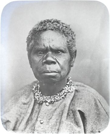 Trukanini, 1866 (printed 1890s) by Charles Woolley