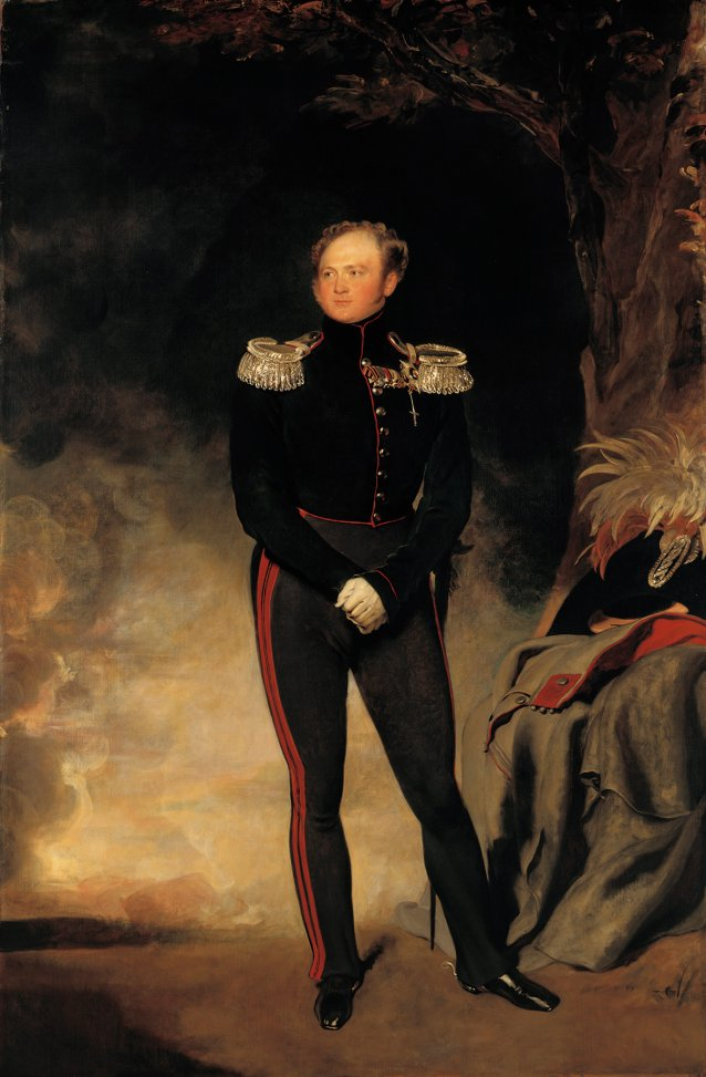 Alexander I, Emperor of Russia, 1814-18 by Sir Thomas Lawrence