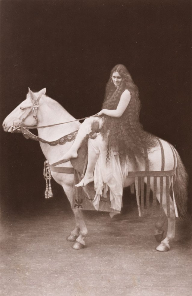 La Milo as Lady Godiva at Coventry